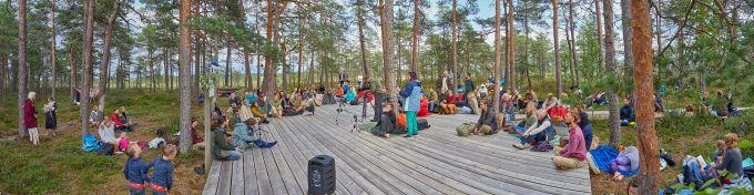 00 Soomaa rahvuspargis, Hüpassaare rabasaarel.